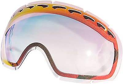 Zero Replacement Lenses For Oakley Crowbar Snow Goggle Ruby Clear New