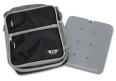Fridge-to-go Cooler Lunch Bag - Insulated Bag Comes WITH A COOLING PANEL ... New
