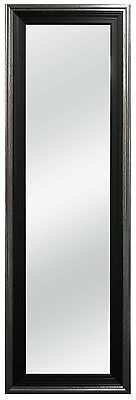 MCS 12 by 48-Inch Over The Door Mirror 18 by 54-Inch Pewter Edge Finish B... New