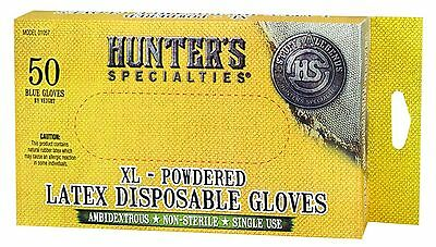 Hunter's Specialties Field Dressing Gloves - 50 Count 25-Pair New