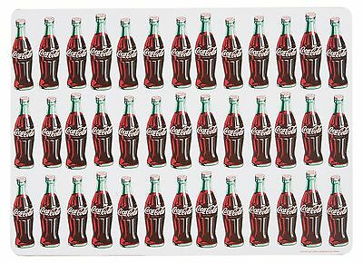 Now Designs Coca-Cola Bottle Rocket Cork-Backed Placemats Set of 4 New