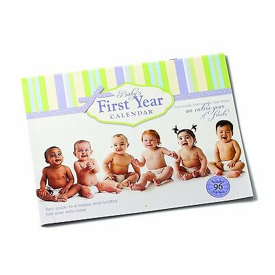 Nat & Jules Calendar-NAJBY Baby's First Ivory Green Purple New