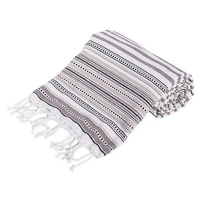 DII 100% Cotton Machine Washable Turkish Fouta Towel Fast Drying Ultra So... New