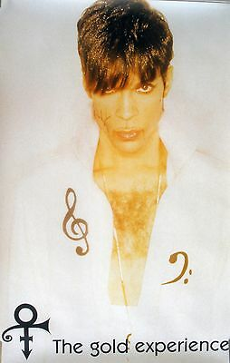 Rare Prince Gold Experience 1995 Vintage  Music Record Store Promo Poster