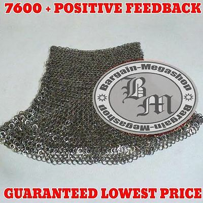 Chainmail Aventail Full Flat Riveted Chain Mail Aventail Flat Rivet Aventatail