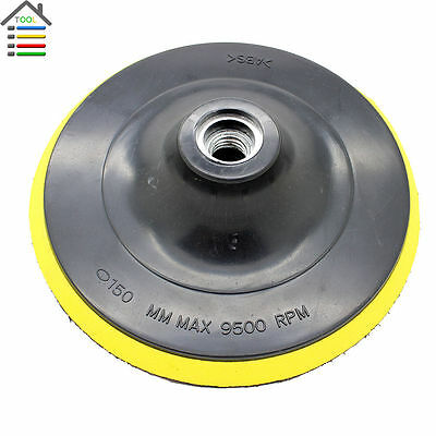 "1pcs M16 6"" Round Wheel Polishing Pad Buffing Bonnet Buffer for Angle Grinder"