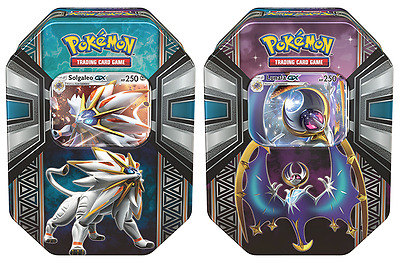 Pokemon TCG Legends of Alola GX Tin