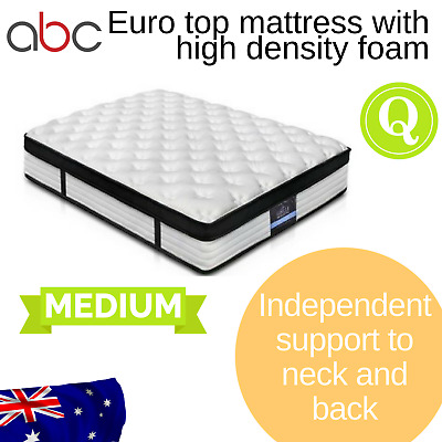 Giselle Bedding Euro Top mattress - QUEEN - 31 cm, medium firm - free shipping