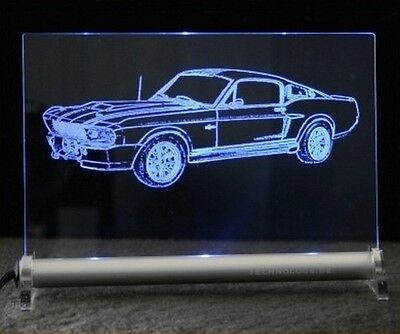Ford Mustang Eleanor GT500 auf LED Schlid GT 500 Shelby