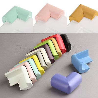 10x Baby Safety Glass Table Corner Guards Protector Soft Child Kids Angle Cover