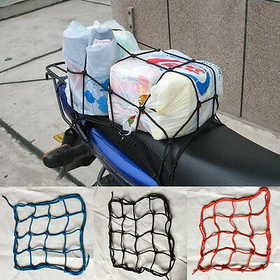 Motorcycle Luggage 6 Hooked Net Carry Helmet/Goods/Cargo Convenient String Bag