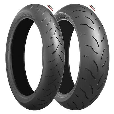 Motorcycle Sports Tyres Bridgestone Battlax BT016 Pro 120/70 ZR17 & 180/55 ZR17