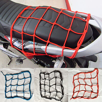 NEW Motorcycle Luggage Hooked Net Carry Helmet/Goods/Cargo Convenient String Bag