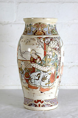A beautiful Antique Satsuma Ware Japanese Vase Early century.
