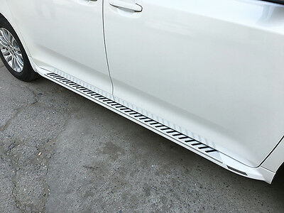 White Side Step fit for Toyota SIENNA 2011-2017 Running Board Nerf Bar