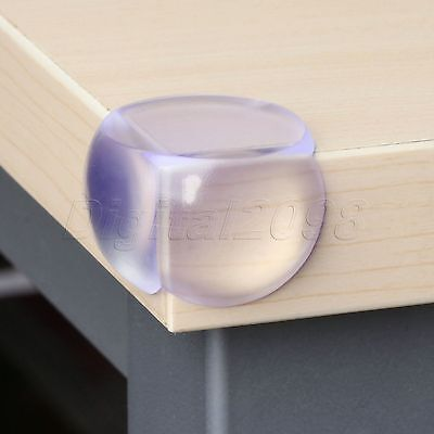 5/10 Baby Safety Glass Table Corner Guards Protector Child Kids Silicone Cover