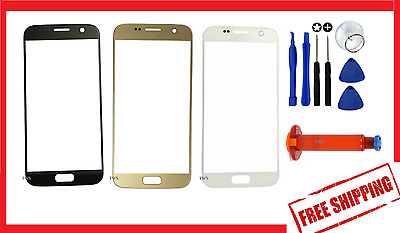 Original Outer Front Glass Screen Replacement For Samsung Galaxy S7 S8 Plus / S8