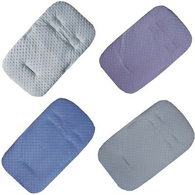Dimple Padded Seat Liners - Universal style - ideal for buggies and puchchairs