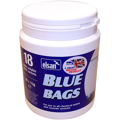 New Blue Bags x 18