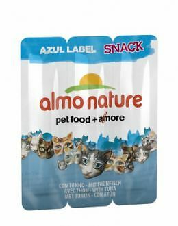 Almo nature Azul Label Snacks con Atun