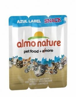 Almo nature Nature Azul Label Snacks Con Pollo