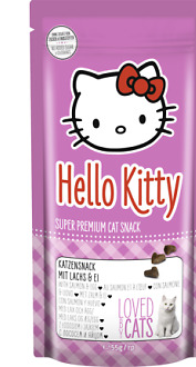 Hello Kitty Salmón-Huevo Pack 55G