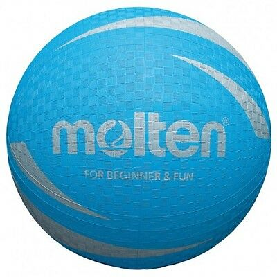 Molten Volleyball Soft Touch Vinyl Non Sting Rubber Surface  BVF Approved