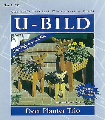 U-Bild 745 Deer Planter Trio Project Plan