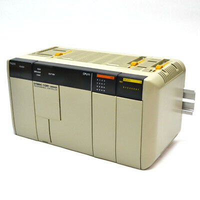 Omron CQM1-CPU11 SYSMAC Programmable Controller PA203 Power Supply OC221 I/O