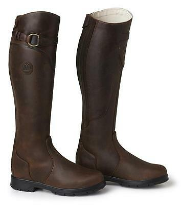 Mountain Horse Spring River - All Purpose - Long Riding Boots - Brown