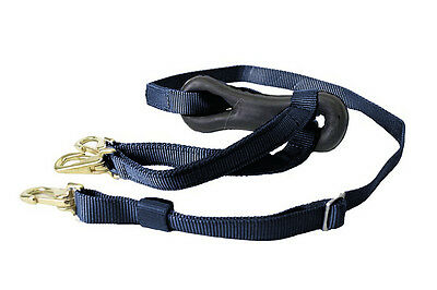 Finntack Double-Headed Martingale With Dogbone - Nylon - Long - Driving