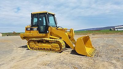 1999 Caterpillar 953C Track Loader Diesel Engine Hydraulic Machinery Cab AC Heat