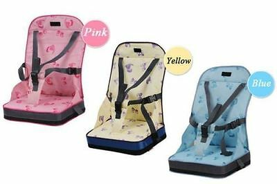 Babyhugs Portable Baby Toddler Foldable Dining Chair On the Go Booster Seat