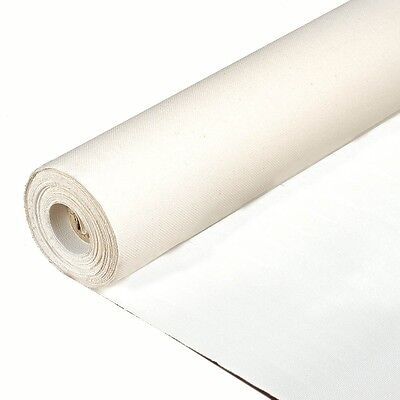 Manufacturer's Outlet Primed Cotton Canvas Roll  3 yds x 63""
