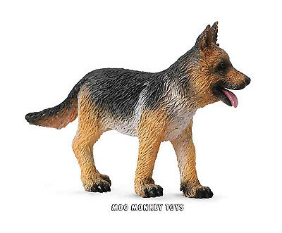 GERMAN SHEPHERD dog PUPPY CollectA # 88553 Animal Replica Collectible Toy  NWT