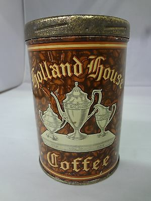 Vintage Holland House Coffee With Original Lid  Advertising Collectible  G-58