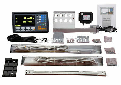 Easson ES-12C 3 axis DRO kits 3 axis digital readout  & GS10 linear scale
