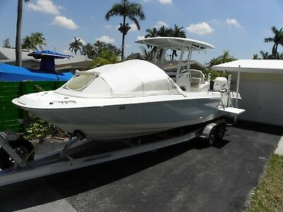 The Element PREFAB Bow Dodger center console boat shade cover  canopy White tent