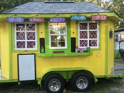 Custom Food/concession/crafts Trailer~Perfect Condition & Spotless~Ready To Go!