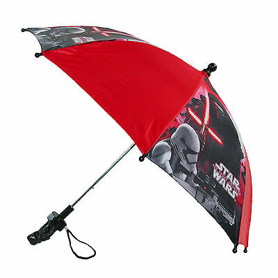 New Disney Kids' Star Wars Stick Umbrella with Character Handle