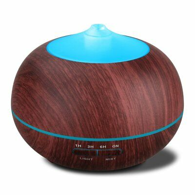 Tenswall 400ml Ultrasonic Aromatherapy Essential Oil Diffuser Cool Mist H... New
