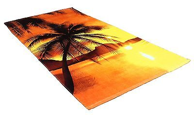 J & M Home Fashions Fiber Reactive Beach Towel 30-Inch by 60-Inch Sunset ... New