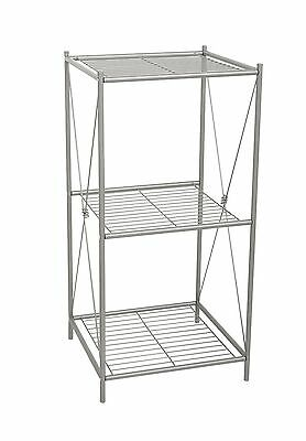 Zenith Products Cross-Style Floor Stand Pearl Nickel Metal New