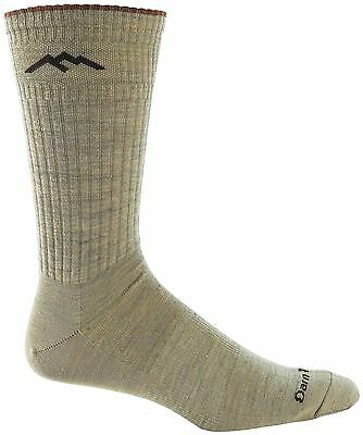 Darn Tough Vermont Merino Wool Dress Crew Light Sock Tan x-large (12.5+) New