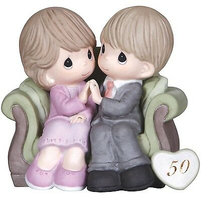 Precious Moments Through The Years 50th Anniversary Figurine New