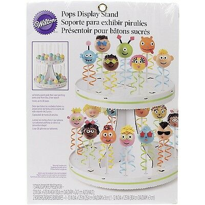Wilton POPS 2-Tier Display Stand 2 tier/Display Stand New