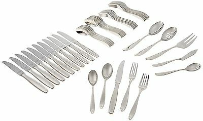 Reed & Barton Palmer 18/10 Stainless Steel 65-Piece Set Service for 12 New