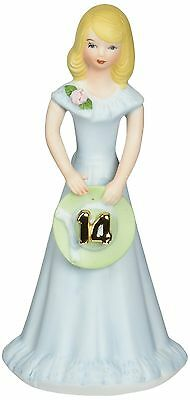 Growing up Girls from Enesco Blonde Age 14 Figurine 6.5 IN New