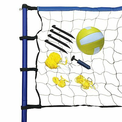 Hathaway Portable Volleyball Net/Posts/Ball and Pump Set New