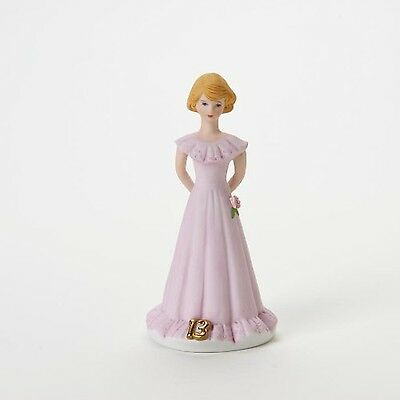 Growing up Girls from Enesco Blonde Age 13 Figurine 6.5 IN New